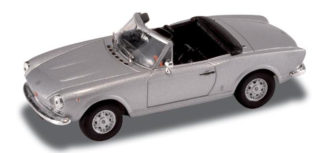 Fiat 124 Spider (1969) Starline 1/43 Gris Metalizado