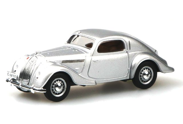 Skoda Popular Sport Monte Carlo (1935) Abrex 1/43 Plata