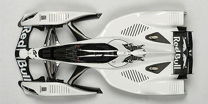 Red Bull X2010 (2010) Autoart 1/18 Blanco