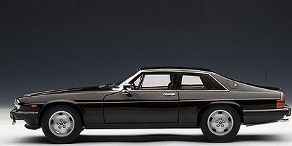 Jaguar XJS Coupé (1986) Autoart 1/18 Negro Sin garantía de devolución - Saldo de modelo defectuoso