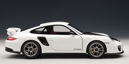Porsche 911 GT2 RS -997- (2010) Autoart 1/18 Blanco capó negro