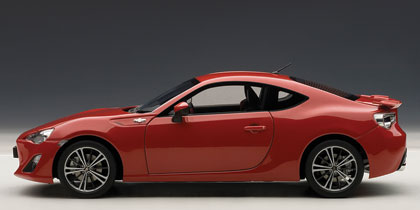 Toyota GT86 (2012) Autoart 1/18 Rojo