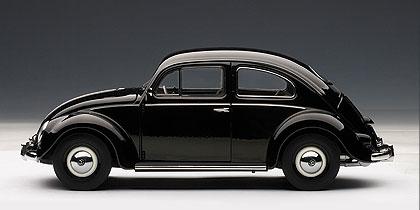 Volkswagen Escarabajo Limousine (1955) Autoart 1/18 Negro