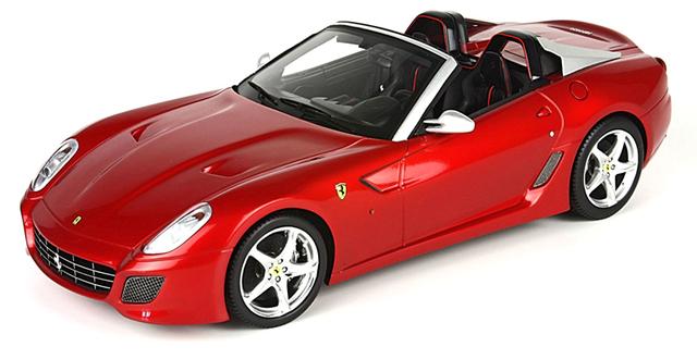 Ferrari 599 Super America Aperta (2010) BBR 1/18 Rojo Fuego