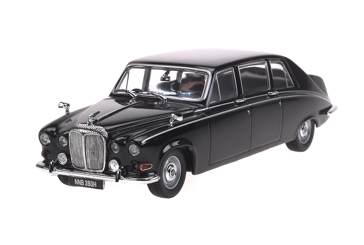 Daimler DS420 (1968) Oxford 1/43 Negro