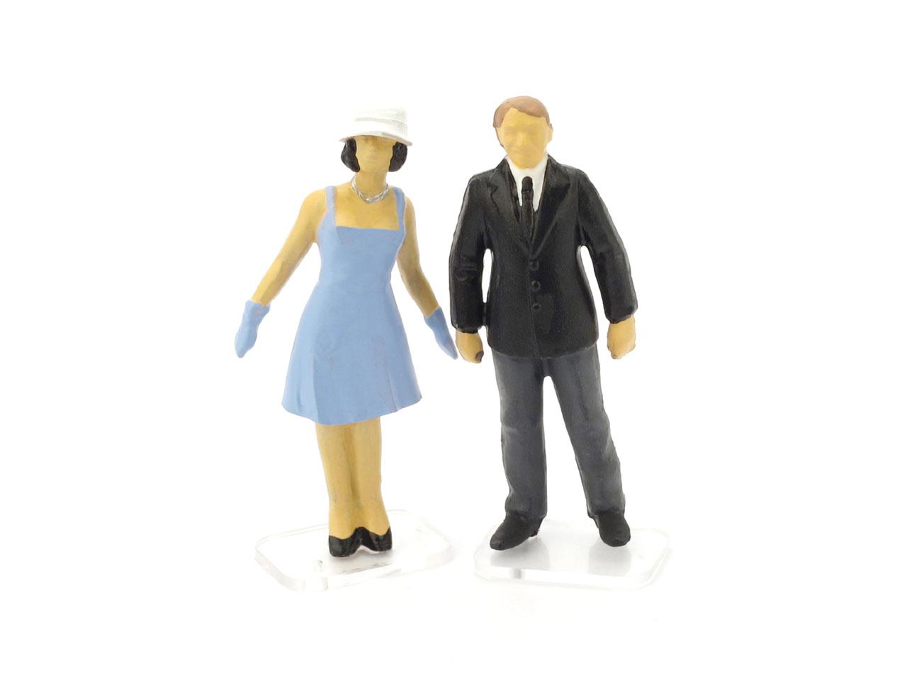 Espectadores (1960) Brumm 1/43 Azul
