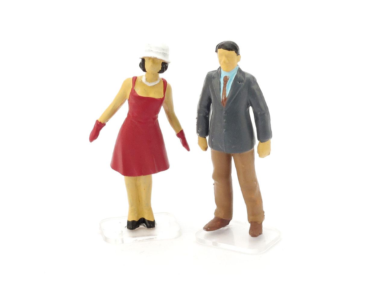 Espectadores (1960) Brumm 1/43 Rojo
