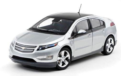 Chevrolet Volt (2012) Kyosho 1/18 Gris Metalizado
