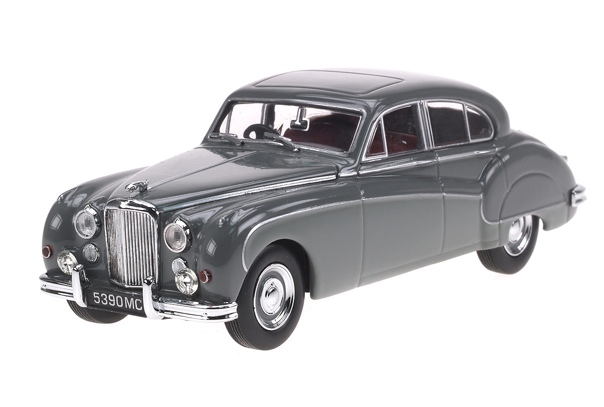 Jaguar Mk IX (1959) Oxford 1/43 Gris Bicolor
