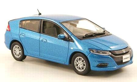 Honda Insight (2009) JCollection 1/43 Azul Metalizado