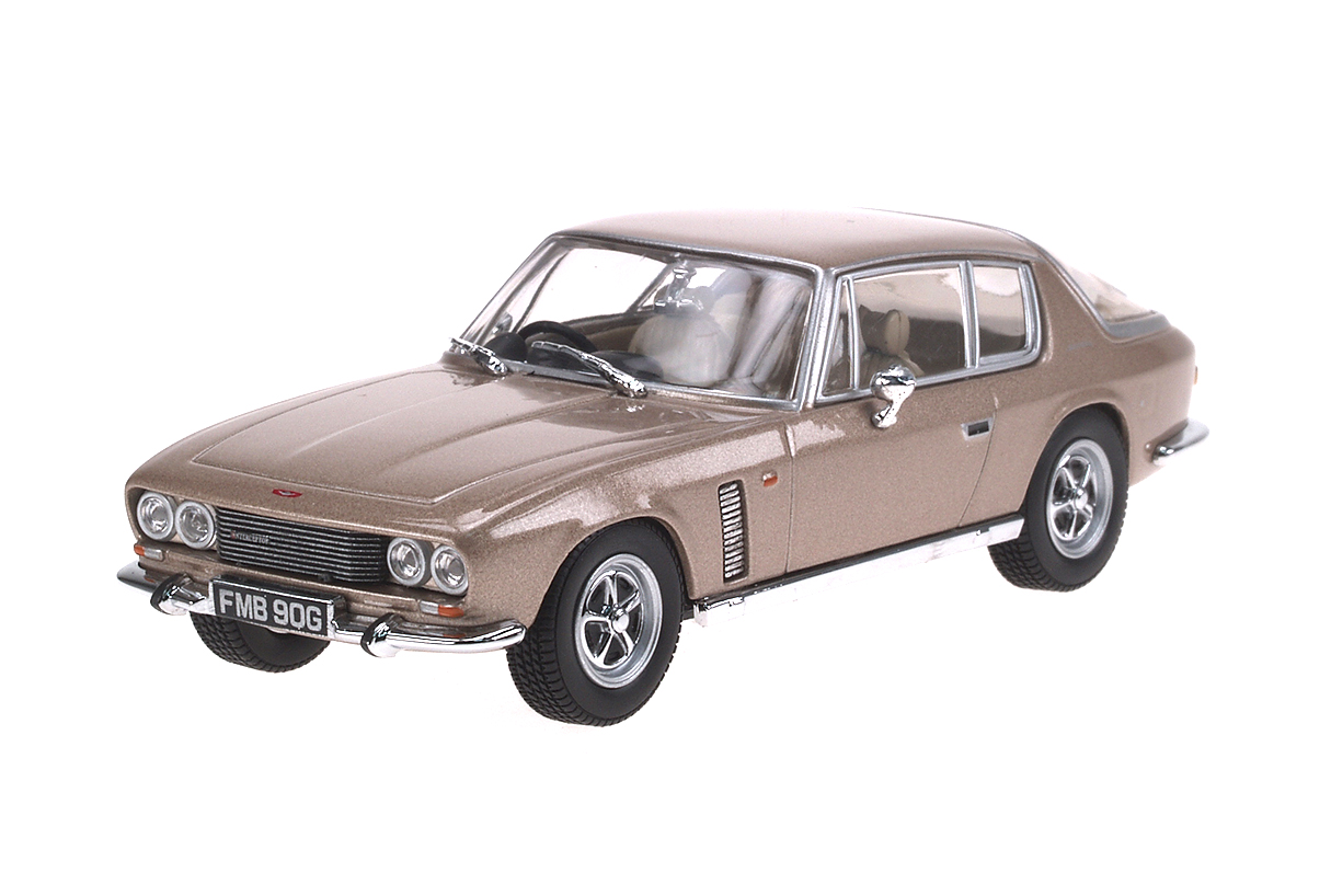 Jensen Interceptor (1966) Oxford 1/43 Beige Metalizado Mk I