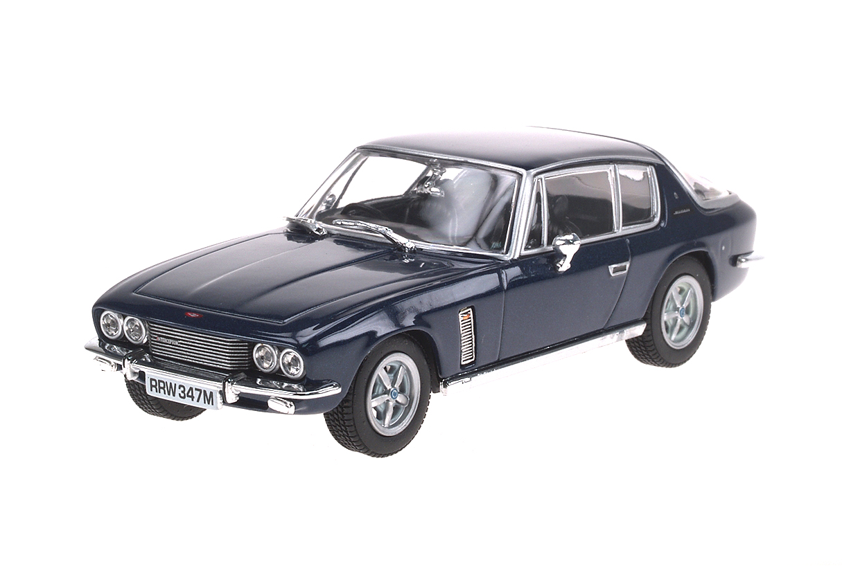 Jensen Interceptor (1966) Oxford 1/43 Azul Metalizado Oscuro Mk III