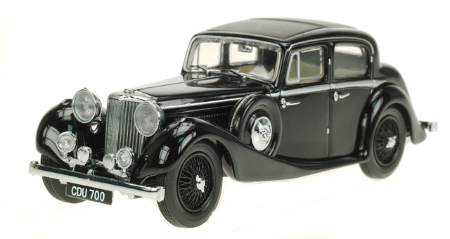 Jaguar SS (1935) Oxford 1/43 Negro