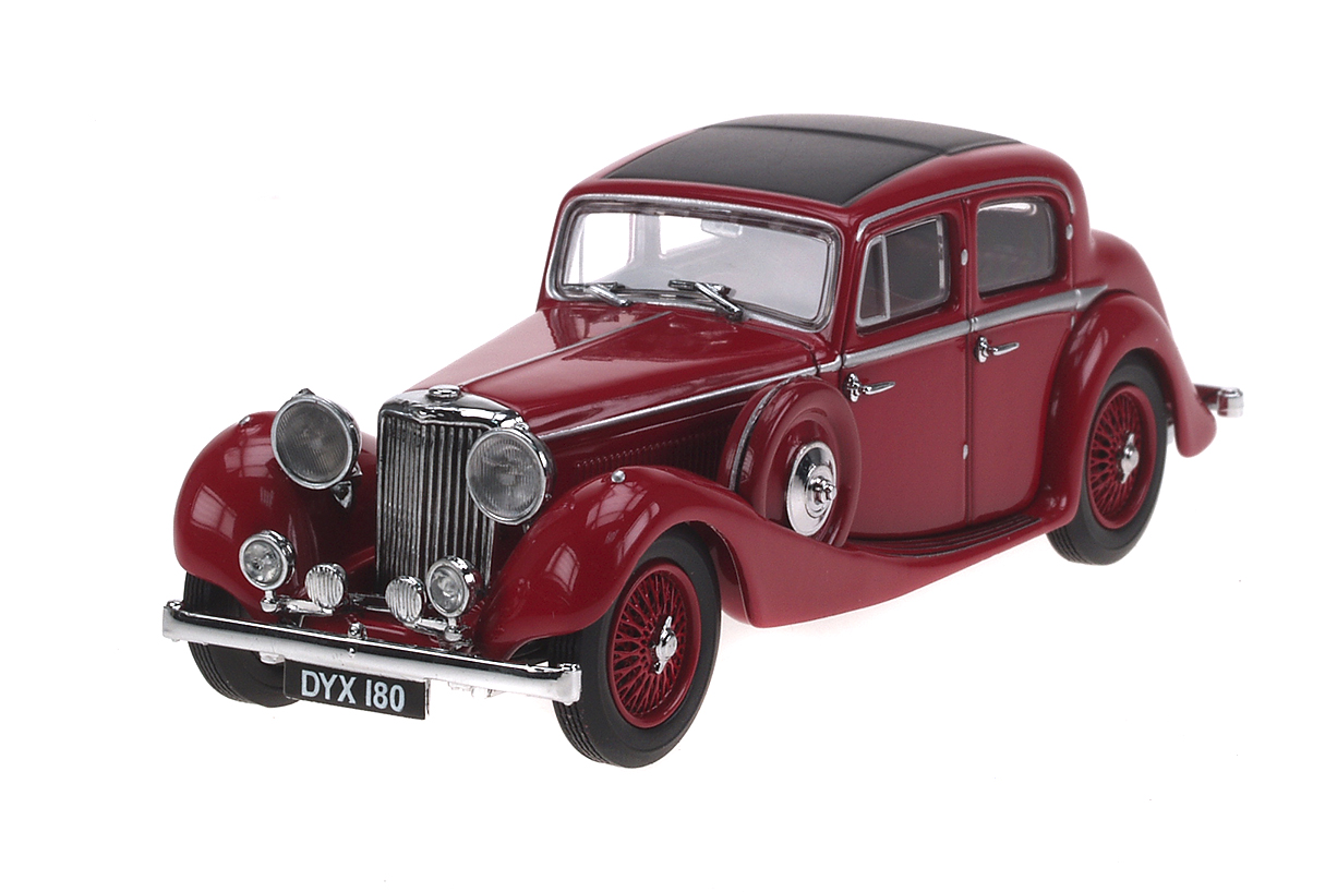 Jaguar SS (1935) Oxford 1/43 Granate