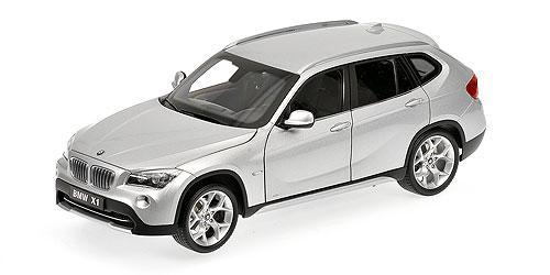 BMW X1 -E84- (2009) Kyosho 1/18 Plata Titán