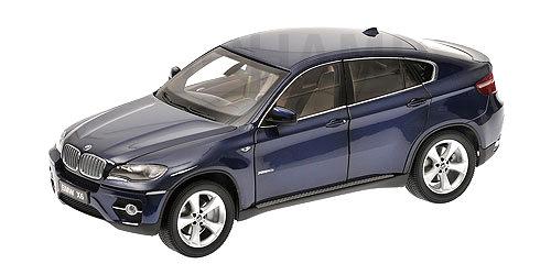 BMW X6 XDrive 50i -E70- Kyosho 1/18 Azul Marino