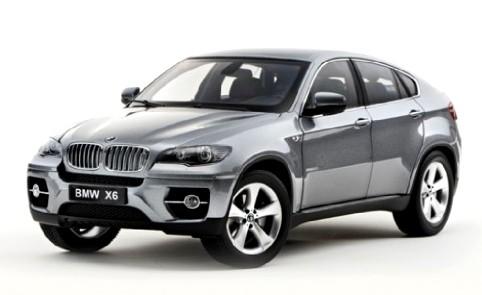 BMW X6 XDrive 50i -E70- Kyosho 1/18 Gris Metalizado