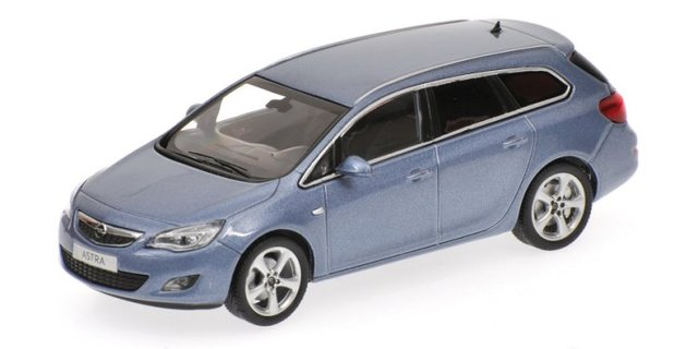 Opel Astra Sports Tourer (2010) Minichamps 1/43 Azul Metalizado