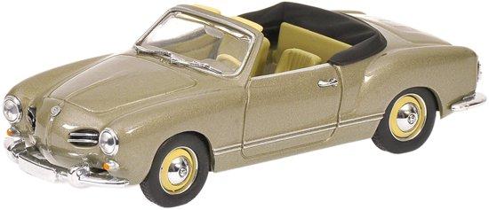 Volkswagen Karmann Ghia Cabriolet (1957) Minichamps 1/43 Gris Metalizado