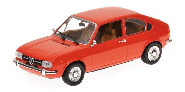 Alfa Romeo Alfasud (1974) Minichamps 1/43 Rojo Coral