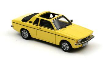 Opel Kadett Aero C (1978) Neo 1/43 Amarillo Techo Abierto