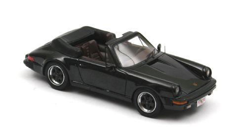 Porsche 911 Cabrio USA (1985) Neo 1/43 Negro