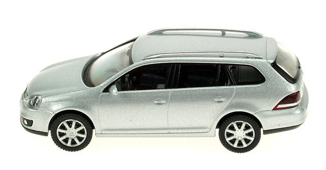Volkswagen Golf Serie 5 Variant (2003) Wiking 1/87 Gris Metalizado