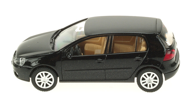 Volkswagen Golf Serie 5 5p. (2003) Wiking 1/87 Negro Metalizado
