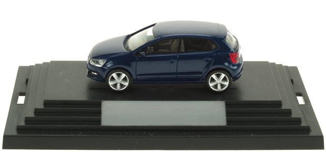 Volkswagen Polo Serie V (2010) Wiking 1/87 Azul Osc. Met.