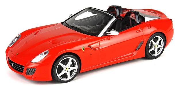 Ferrari 599 Super America Aperta (2010) BBR 1/18 Rojo Dino