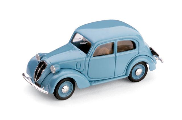 Fiat 1100 -508C- (1937) Brumm 1/43 Azul Ceniza