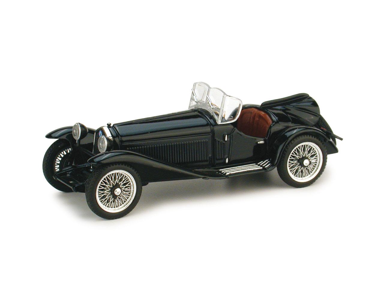 Alfa Romeo 2300 (1931) Brumm 1/43 Negro