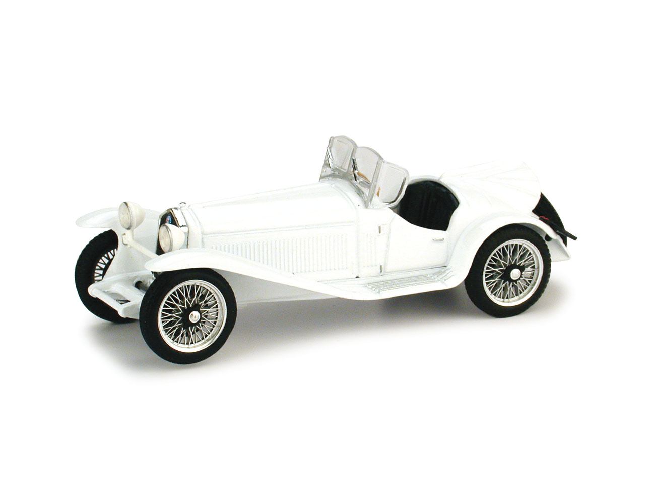 Alfa Romeo 2300 (1931) Brumm 1/43 Blanco
