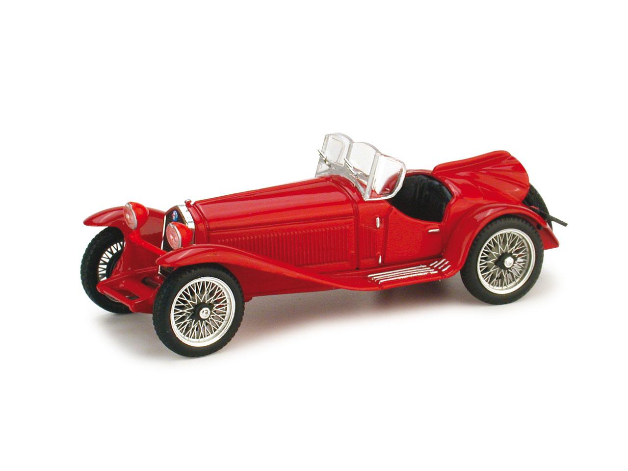 Alfa Romeo 2300 (1931) Brumm 1/43 Rojo