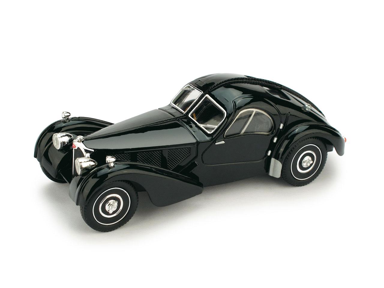 Bugatti 57SC Atlantic (1938) Brumm 1/43 Negro