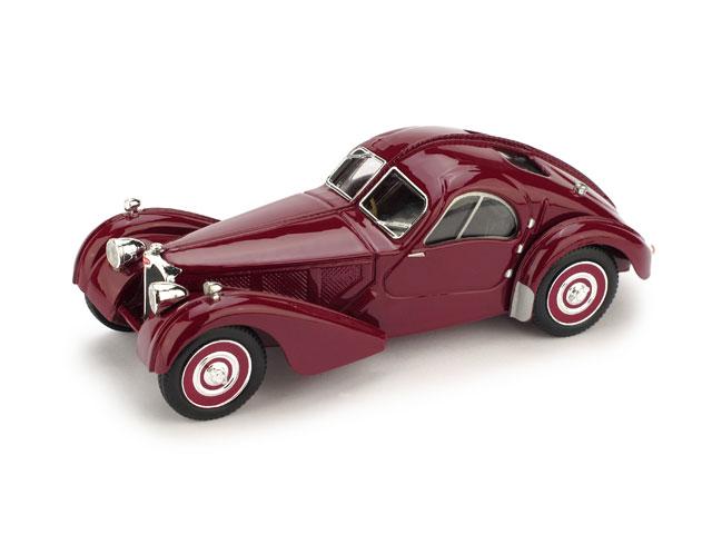 Bugatti 57SC Atlantic (1938) Brumm 1/43 Granate Molde actualizado 2010