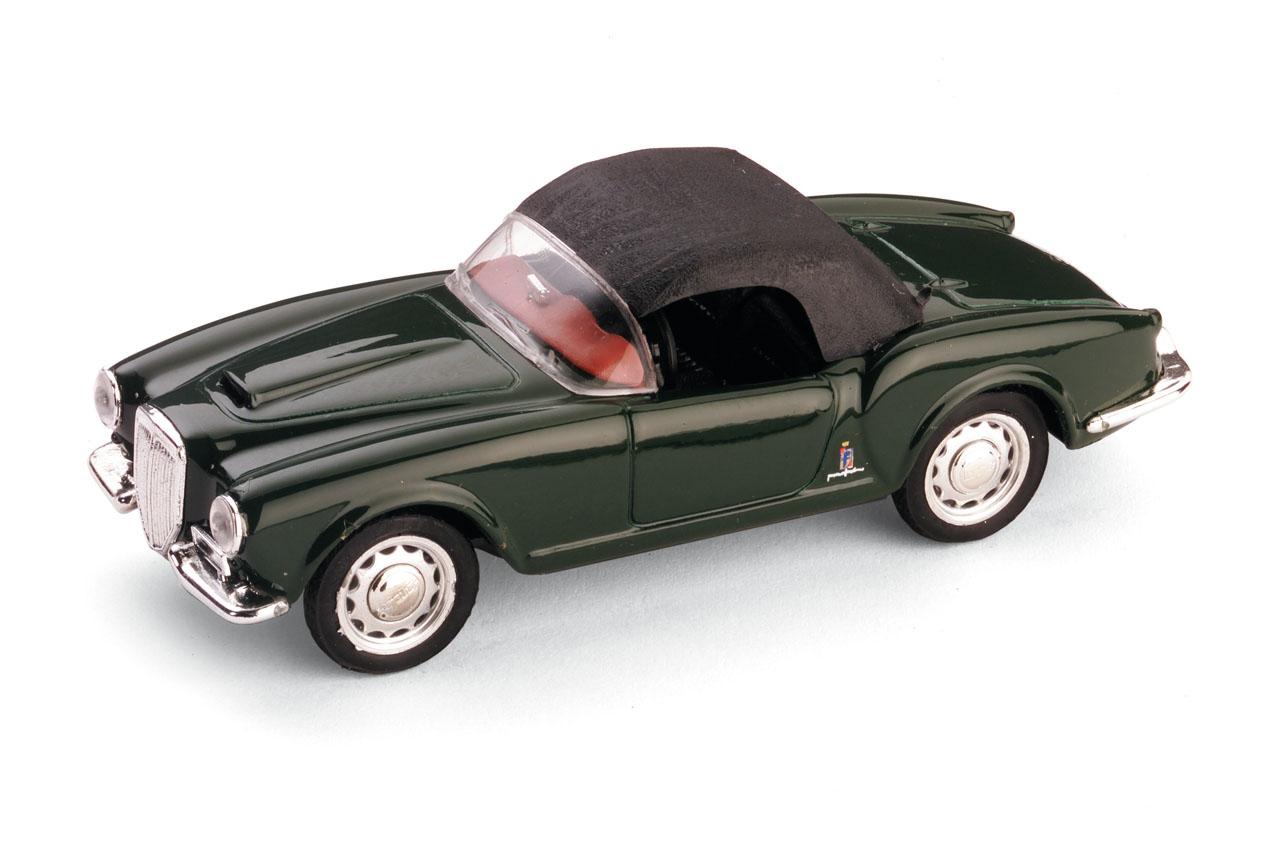 Lancia Aurelia B24 Spider America (1956) Brumm 1/43 Verde Capota Cerrada