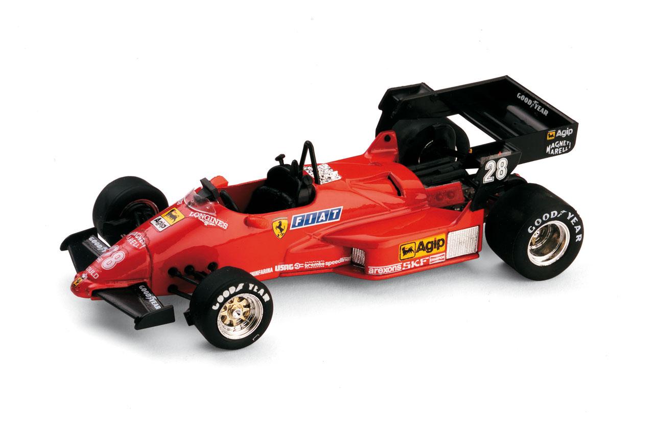 Ferrari 126 C4 nº 28 Rene Arnoux (1984) Brumm 1/43 Sin Piloto