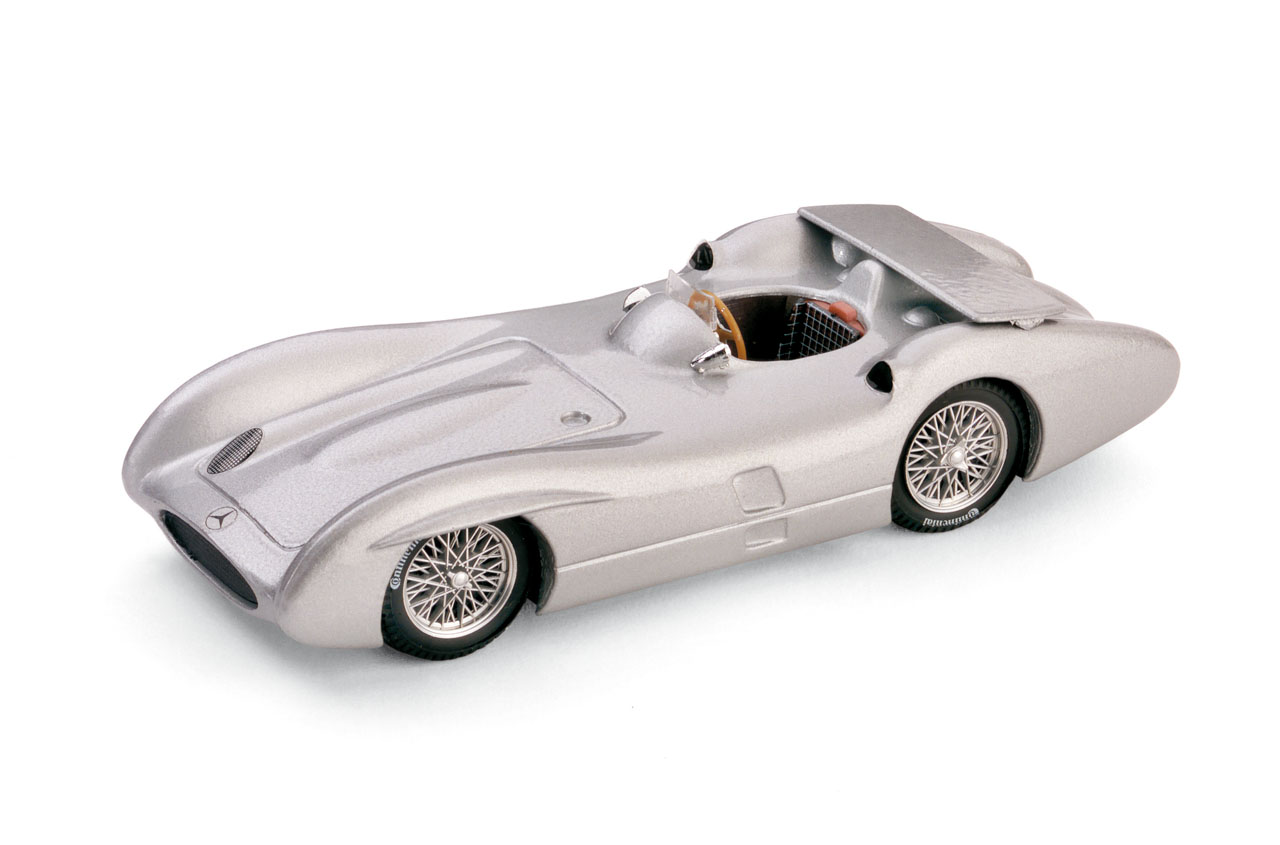 Mercedes W196C (1955) Brumm 1/43 s/n Stirling Moss