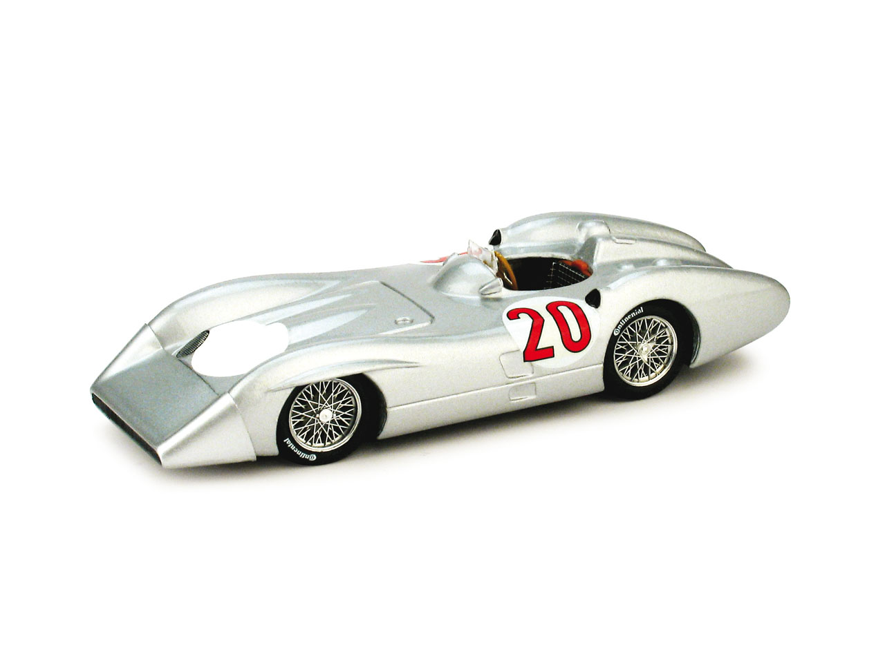 Mercedes W196C (1955) Brumm 1/43 nº 20 Stirling Moss
