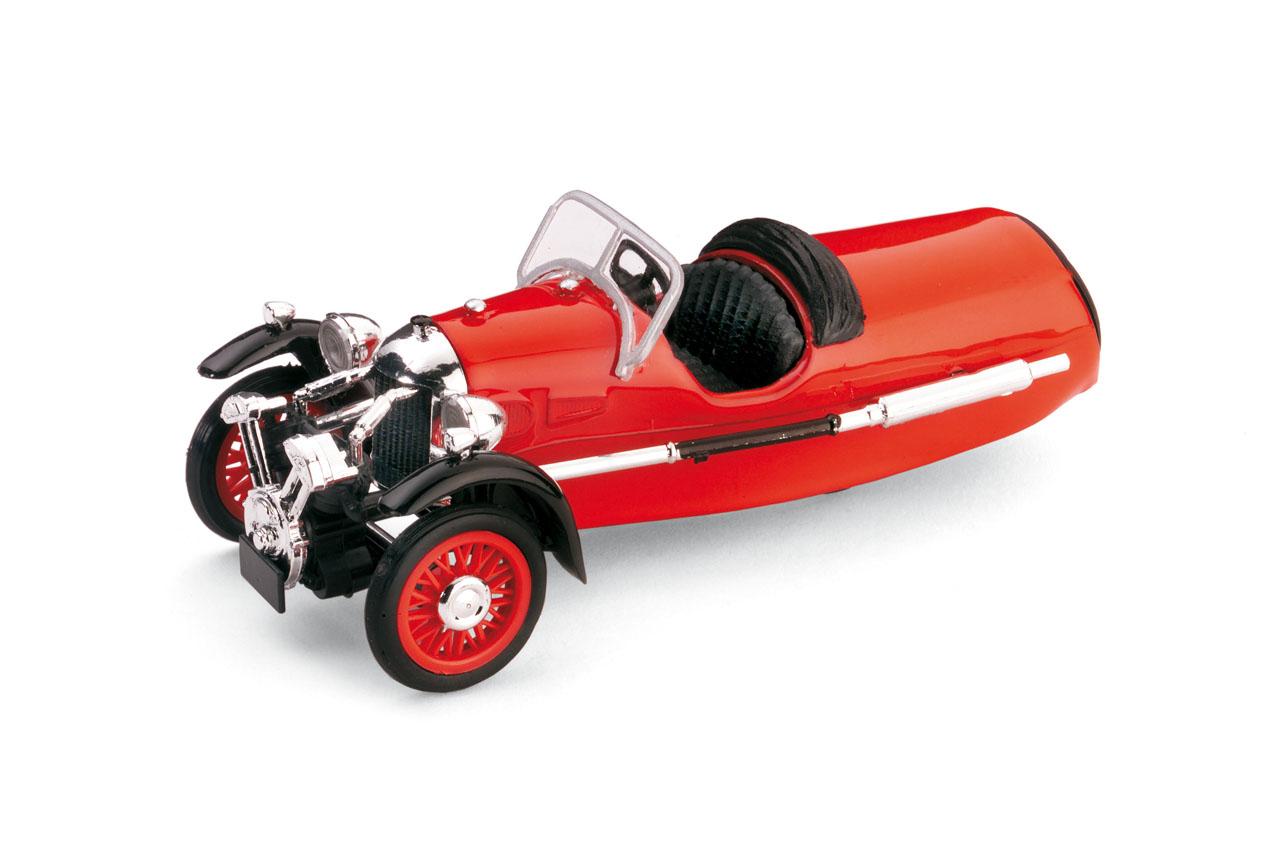 Morgan MX-4 Super Sport (1935) Brumm 1/43 Rojo Capota Abierta