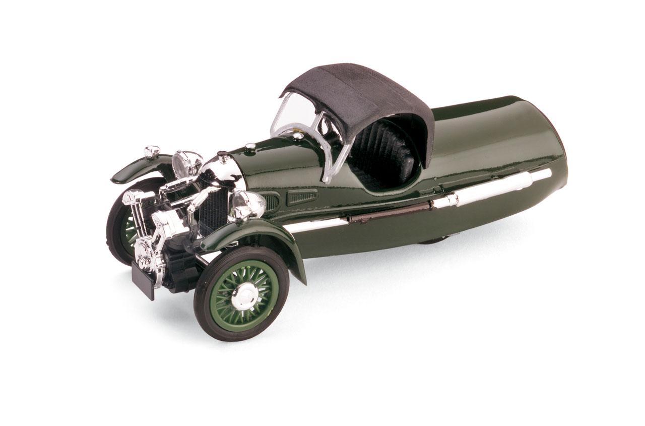 Morgan MX-4 Super Sport (1935) Brumm 1/43 Verde Capota Cerrada