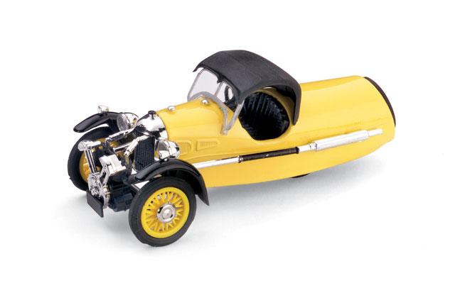 Morgan MX-4 Super Sport (1935) Brumm 1/43 Amarillo Capota Cerrada