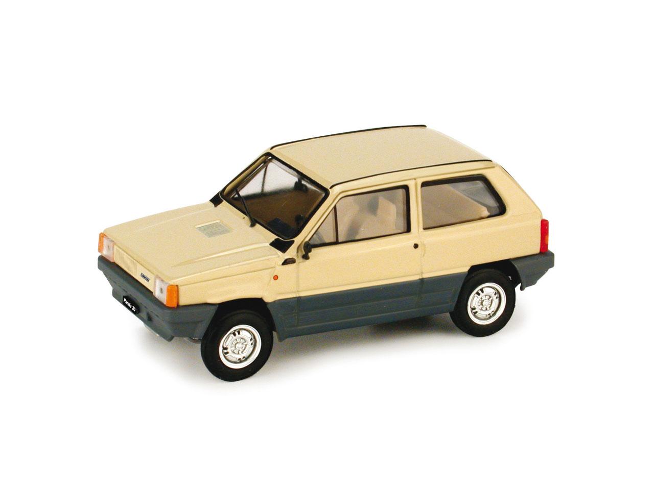 Fiat Panda 30 (1980) Brumm 1/43 Beige Kenia