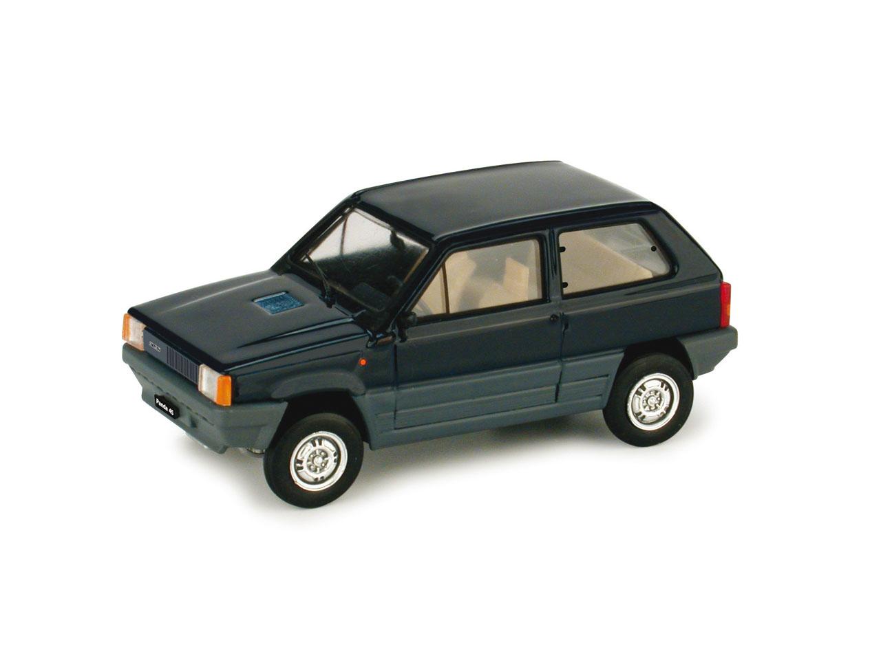 Fiat Panda 45 (1980) Brumm 1/43 Azul Smalto
