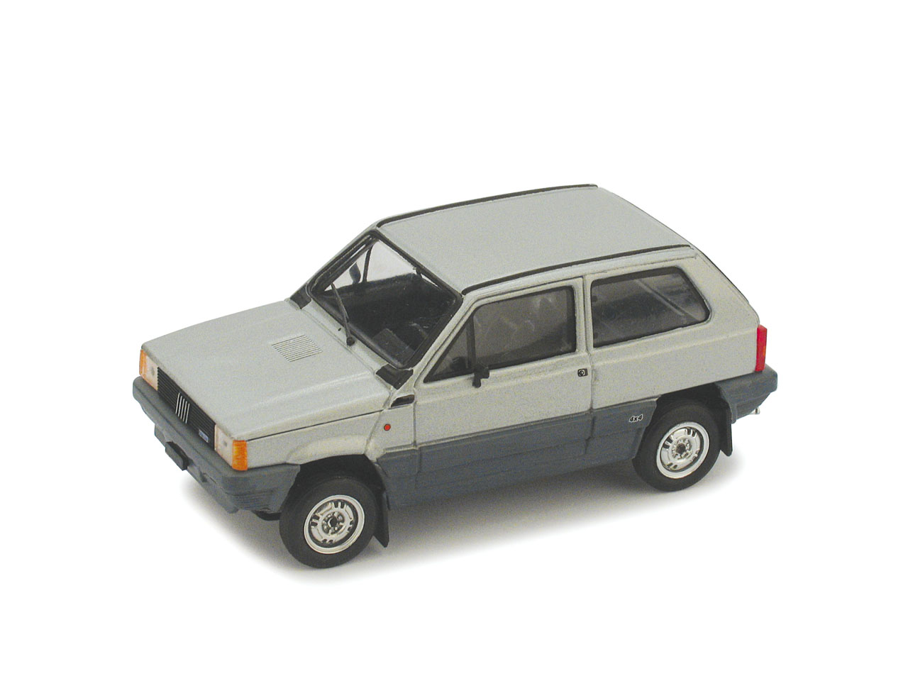 Fiat Panda 4x4 (1983) Brumm 1/43 Gris Metalizado