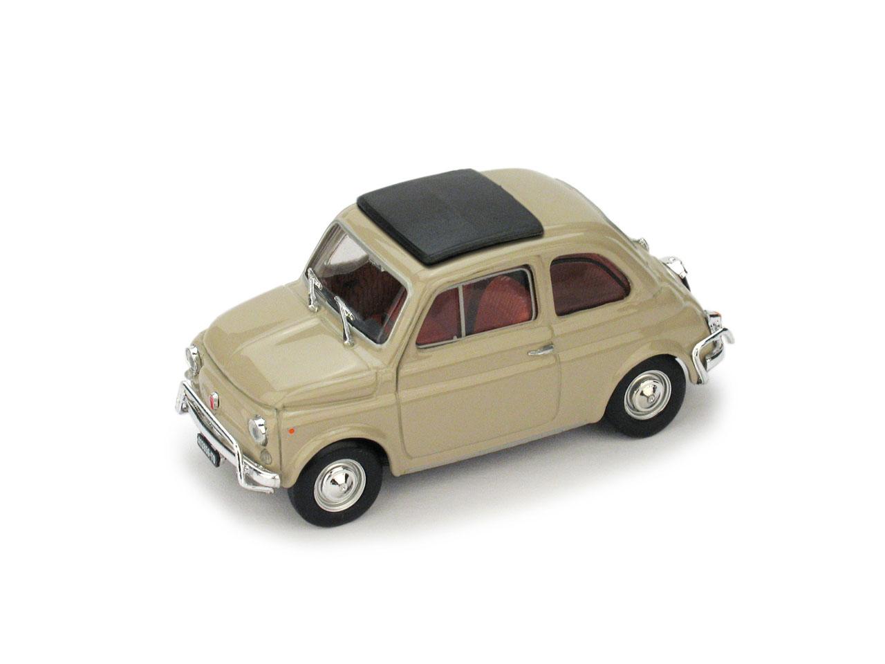 Fiat 500L Techo Cerrado (1968) Brumm 1/43 Beige Arena