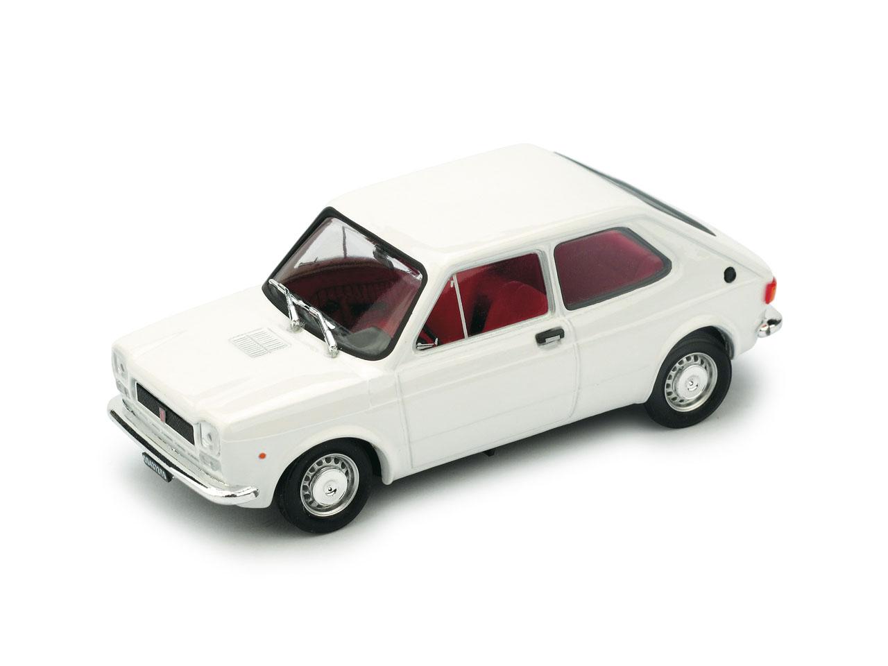 Fiat 127 (1971) Brumm 1/43 Blanco