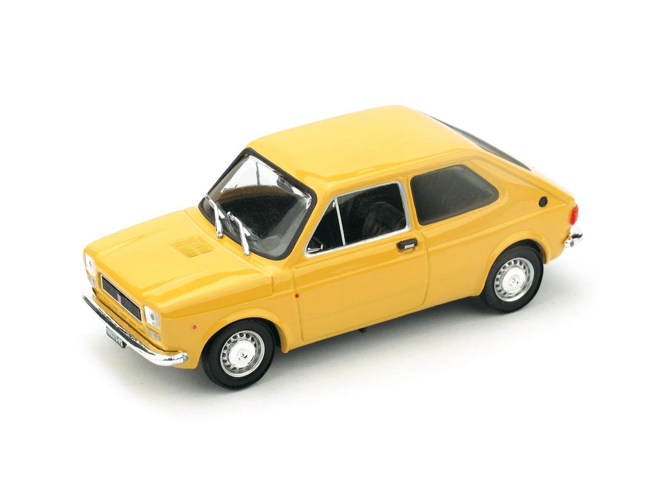 Fiat 127 (1971) Brumm 1/43 Amarillo Tahiti