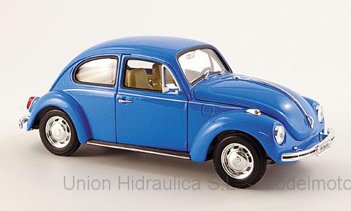 Volkswagen Beetle (1972) Welly 1:24 Azul